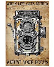 Photogreapher Adjust Your Focus 24x36 Poster front