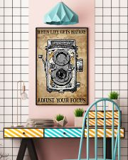 Photogreapher Adjust Your Focus 24x36 Poster lifestyle-poster-6
