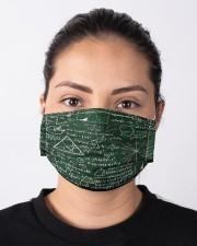 Maths Formula On Chalkboard Cloth Face Mask - 3 Pack aos-face-mask-lifestyle-01