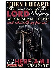 Knights Templar Lord Send Me 11x17 Poster front