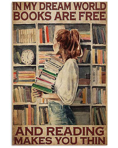 book girl In My Dream World