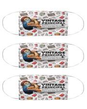 principal vintage mas  Cloth Face Mask - 3 Pack front