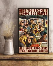 bus driver problem behind you poster 11x17 Poster lifestyle-poster-3