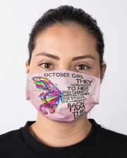 October girl butterfly storm mas  Cloth Face Mask - 3 Pack aos-face-mask-lifestyle-01