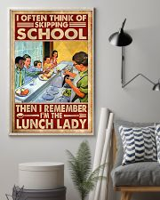 lunch lady skipping poster 11x17 Poster lifestyle-poster-1