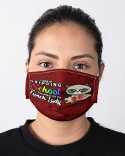 lunch lady skip school mas  Cloth Face Mask - 3 Pack aos-face-mask-lifestyle-01
