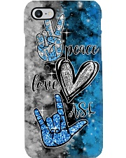 ASL peace love hope Phone Case i-phone-7-case