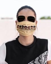 black girl god say mas Cloth Face Mask - 3 Pack aos-face-mask-lifestyle-02