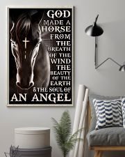 god made a horse from the breath pt lqt nna 11x17 Poster lifestyle-poster-1