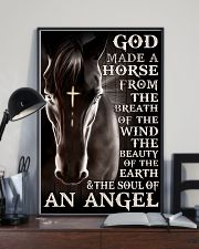 god made a horse from the breath pt lqt nna 11x17 Poster lifestyle-poster-2