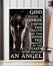 god made a horse from the breath pt lqt nna 11x17 Poster lifestyle-poster-4