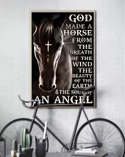 god made a horse from the breath pt lqt nna 11x17 Poster lifestyle-poster-7