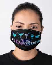 bartender Thirst responder mas  Cloth Face Mask - 3 Pack aos-face-mask-lifestyle-01