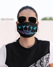 bartender Thirst responder mas  Cloth Face Mask - 3 Pack aos-face-mask-lifestyle-02