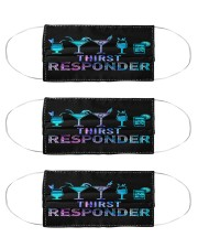bartender Thirst responder mas  Cloth Face Mask - 3 Pack front