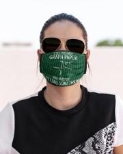 math teacher graph paper mas  Cloth Face Mask - 3 Pack aos-face-mask-lifestyle-02