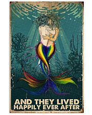 lgbt les mermaid happily-ever-after poster  11x17 Poster front