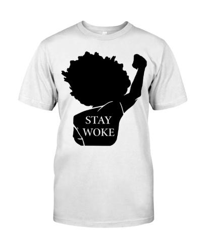 black girl stay woke