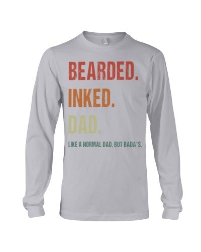 bearded inked dad