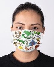 brazil  map mas  Cloth Face Mask - 3 Pack aos-face-mask-lifestyle-01