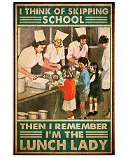 lunch lady skipping school poster 1  11x17 Poster front