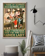 lunch lady skipping school poster 1  11x17 Poster lifestyle-poster-1