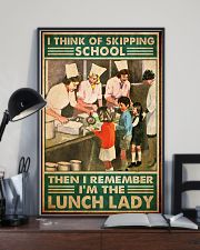 lunch lady skipping school poster 1  11x17 Poster lifestyle-poster-2