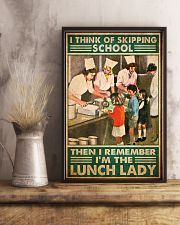 lunch lady skipping school poster 1  11x17 Poster lifestyle-poster-3