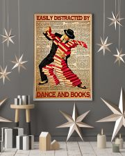 easily distracted books dance pt mttn ntv  11x17 Poster lifestyle-holiday-poster-1