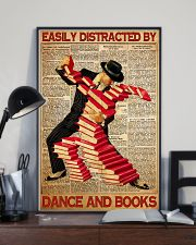 easily distracted books dance pt mttn ntv  11x17 Poster lifestyle-poster-2
