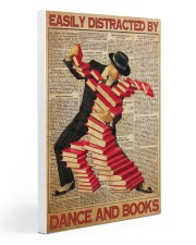 easily distracted books dance pt mttn ntv  20x30 Gallery Wrapped Canvas Prints thumbnail
