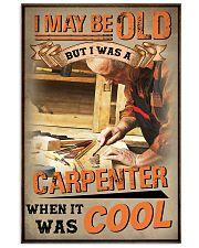carpenter old man cool pt lqt ngt 11x17 Poster front