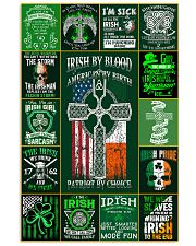 irish by blood poster 11x17 Poster front