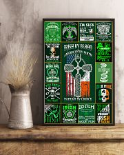irish by blood poster 11x17 Poster lifestyle-poster-3