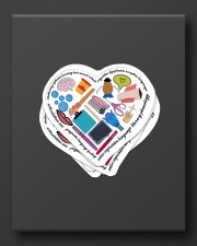 speech therapist heart sticker Sticker - 6 pack (Vertical) aos-sticker-6-pack-vertical-lifestyle-front-08