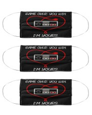 gamer i'm your mas Cloth Face Mask - 3 Pack front