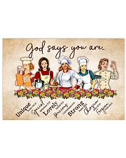 lunch lady god say you are poster 17x11 Poster front