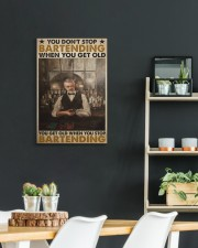 old bartender you don't stop poster ttb-pml 16x24 Gallery Wrapped Canvas Prints aos-canvas-pgw-16x24-lifestyle-front-19