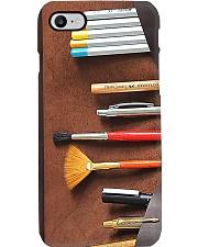 Pencil Roll Artist pc mttn ngt Phone Case i-phone-8-case