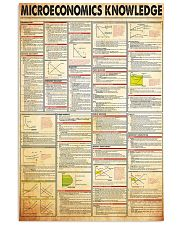 microeconomics-knowledge 24x36 Poster front
