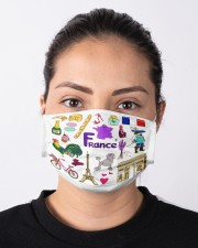 french map mas  Cloth Face Mask - 3 Pack aos-face-mask-lifestyle-01