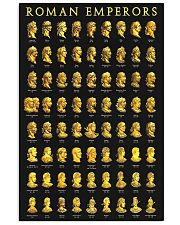 roman emperors 11x17 Poster front