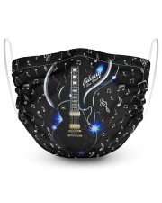 GUITAR THE MYSTERY mas 2 Layer Face Mask - Single thumbnail
