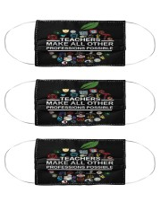 teacher make all other Cloth Face Mask - 3 Pack front