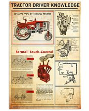 famer-tracter-red 11x17 Poster front