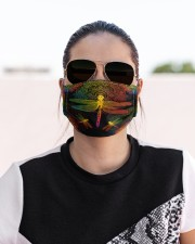 lgbt mandala dragonfly mas  Cloth Face Mask - 3 Pack aos-face-mask-lifestyle-02