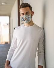 PE teacher squad mas Cloth Face Mask - 3 Pack aos-face-mask-lifestyle-10