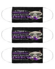 fibromyalgia energy mas Cloth Face Mask - 3 Pack front