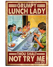 grumpy lunch lady poster  11x17 Poster front