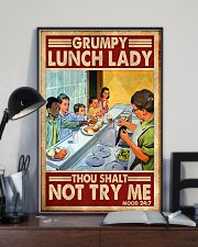 grumpy lunch lady poster  11x17 Poster lifestyle-poster-2